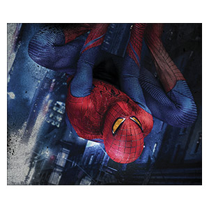 Неформатный постер Spider-man. Размер: 60 х 50 см
